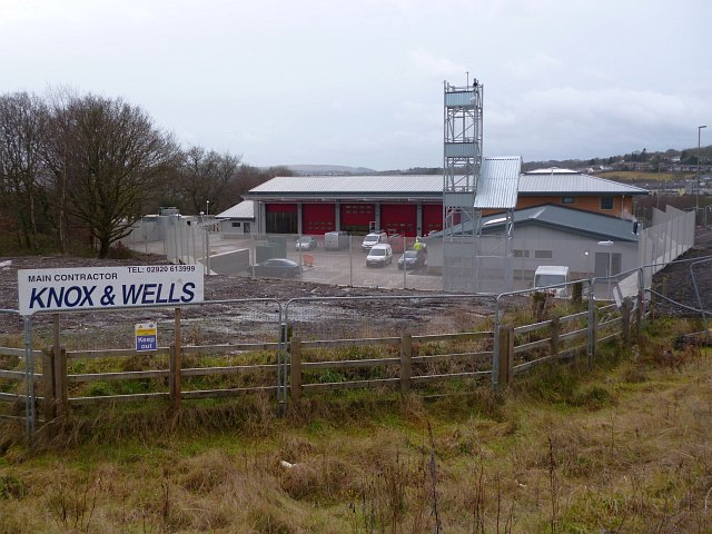Aberbargoed Community Fire and Rescue Station