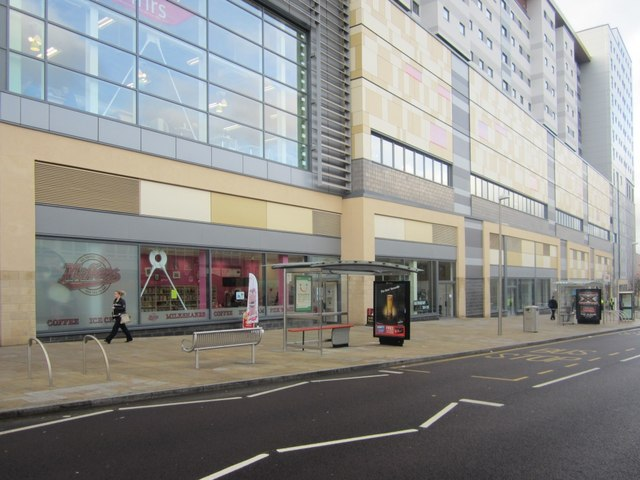 High Street facade of Trinity Square, Gateshead