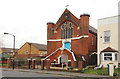 TQ3476 : St Paul's Mission Church, Consort Road by John Salmon
