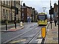 SD9204 : Metrolink Tram on Union Street by David Dixon