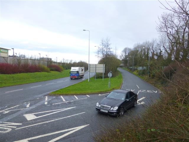 Great Northern Road, Omagh by Kenneth  Allen