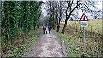 SK1751 : Heading south on the Tissington Trail by Chris Morgan