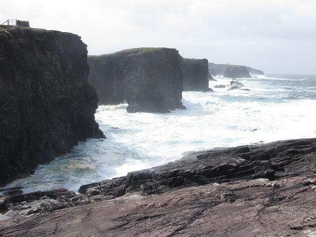 Coastal scenery, Esha Ness