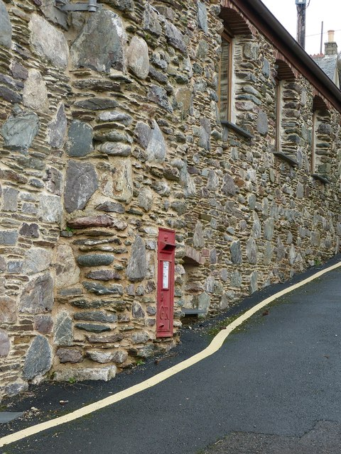 Postbox, Fish Cellars, Portwrinkle