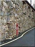 SX3553 : Postbox, Fish Cellars, Portwrinkle by Rob Farrow