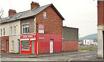 J3272 : Disused shop, Donegall Avenue, Belfast - 2014(2) by Albert Bridge