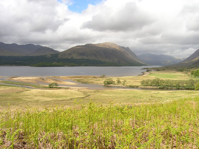 View North up Loch Etive © Andrew Tryon :: Geograph Britain
