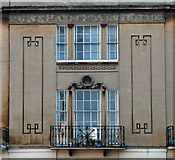 ST7565 : Detail of 9 Cleveland Place West, Bath by Stephen Richards