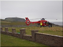 HU3909 : Sumburgh: Northern Lighthouse Board helicopter by Chris Downer