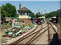 TQ3729 : Arriving at Horsted Keynes station by Robin Webster
