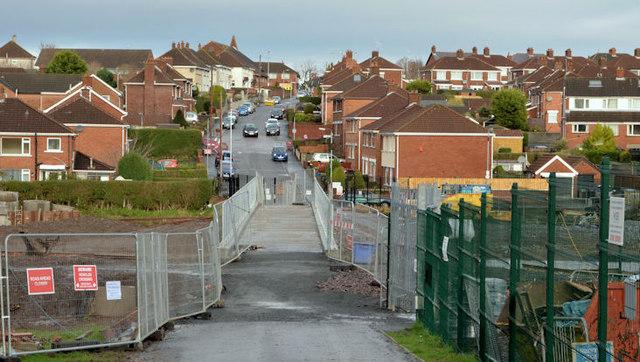 Flood alleviation works, Orangefield Park, Belfast (12)
