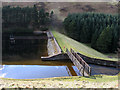 NT0029 : Dam of Cowgill Lower Reservoir by Trevor Littlewood