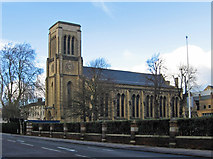 TL0450 : Bedford - Holy Trinity Church on Bromham Road by Dave Bevis
