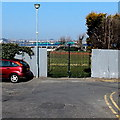 ST1166 : Ernie Carless Memorial Gates, Barry Island by Jaggery