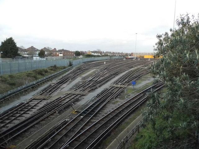 Northfields Depot from Boston Manor Road by David Howard
