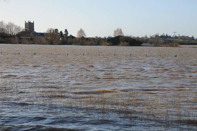 Flooding on Breaking Stone Meadow,... © Philip Halling cc-by-sa/2.0 ::  Geograph Britain and Ireland