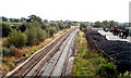 SJ5958 : Site of former Calveley station, 1990 by Ben Brooksbank
