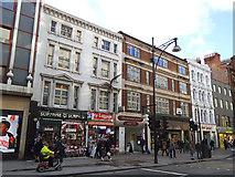 TQ2881 : Regent Hall, Oxford Street: front entrance by Stephen Craven