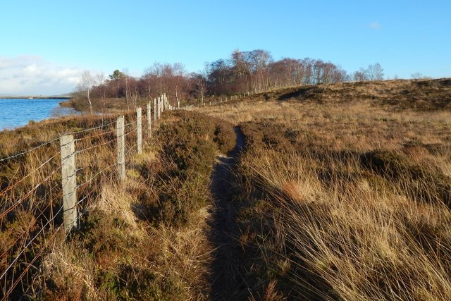 Path beside Carman Reservoir