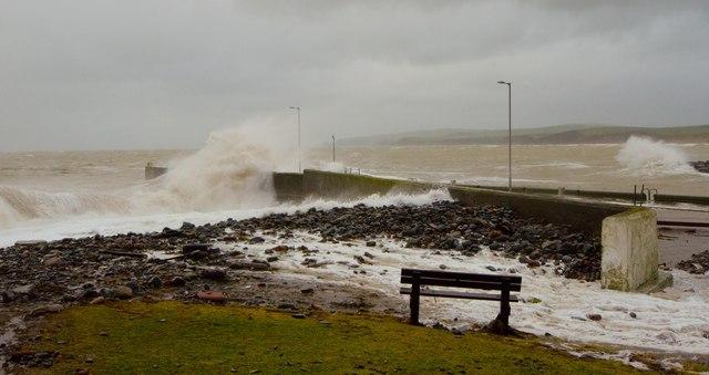 Storm at Port William