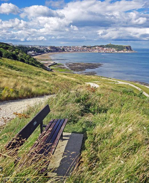 South Bay bench view