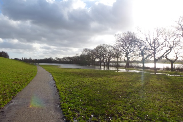 Flooding on Clifton Ings