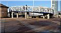 J3474 : The Lagan Weir footbridge, Belfast (5) by Albert Bridge