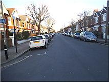TQ2572 : Revelstoke Road, Southfields by David Howard