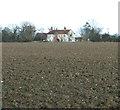 TM3788 : View towards Highfields Farm by Evelyn Simak