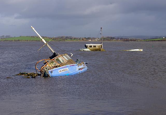 Old boats at Sunderland