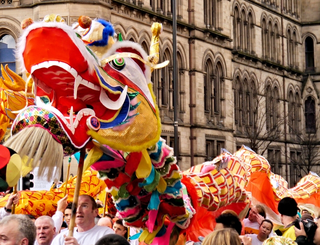 Dragon on Princess Street