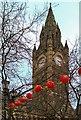 SJ8398 : Chinese Lanterns, Manchester Town Hall by David Dixon