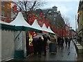 SJ8398 : Chinese Food Market, St Ann's Square by David Dixon
