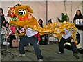 SJ8398 : Chinese New Year, Lion Dance by David Dixon