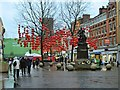 SJ8398 : Chinese New Year, St Ann's Square by David Dixon