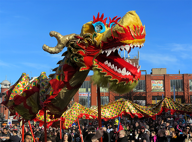 Chinese New Year celebrations, Liverpool