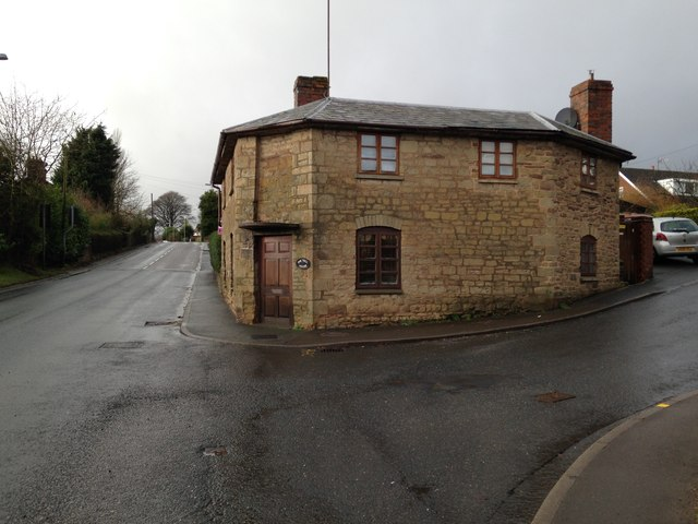 Toll House in Cleobury Mortimer on A4117