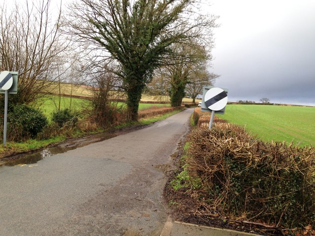 The back road out of Cleobury