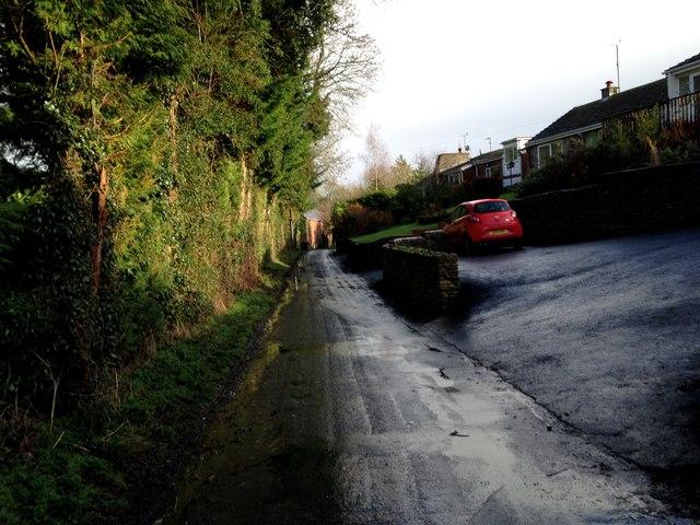 Pinkham Lane down to the Mill