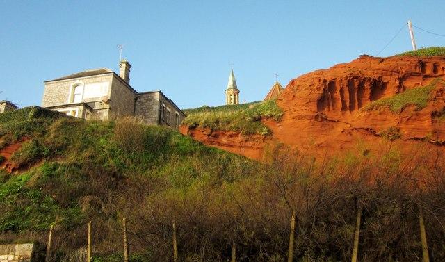 Cliff at Dawlish