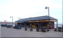 TA1280 : Cafe and takeaways, Coble Landing, Filey by JThomas