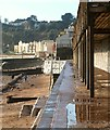 SX9676 : Coast path below Dawlish station by Derek Harper
