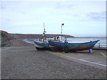 TA1280 : Coble Landing, Filey by JThomas
