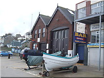 TA1280 : Coble Landing Lifeboat Station, Filey by JThomas