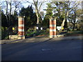 NZ4832 : Entrance gates, Ward Jackson Park by JThomas