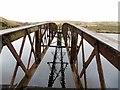 SD6715 : The pier at Ward's Reservoir by Philip Platt