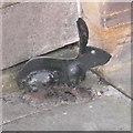 TL4558 : Metal rabbit bootscraper by Tiger