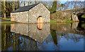 J3269 : Boathouse, Shaw's Bridge, Belfast by Albert Bridge