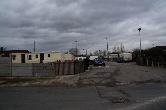 Bedford Street travellers site