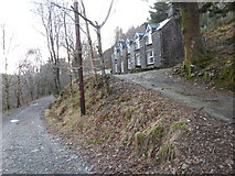 SH7326 : Houses above the Mawddach by David Medcalf